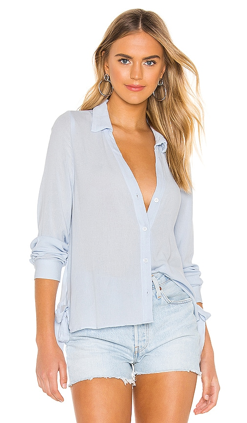Elsa Button Up Top