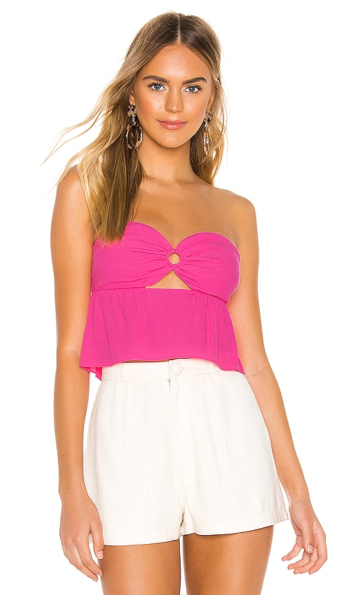 Amber Strapless Top