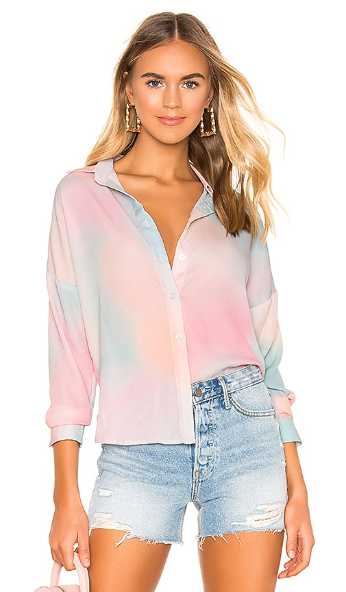 x REVOLVE Miranda Button Up Shirt