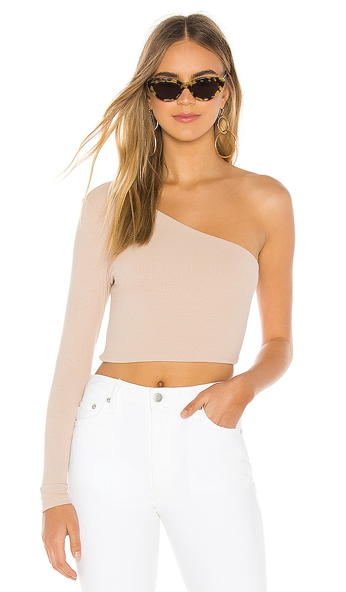 Karol Ribbed Crop Top
