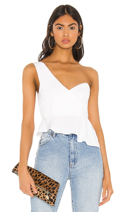 Karlie One Shoulder Top