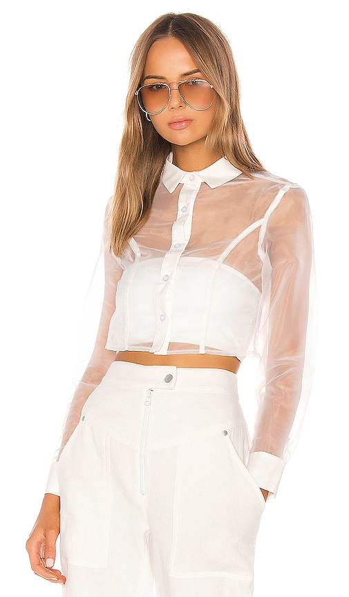 Helena Button Up Top