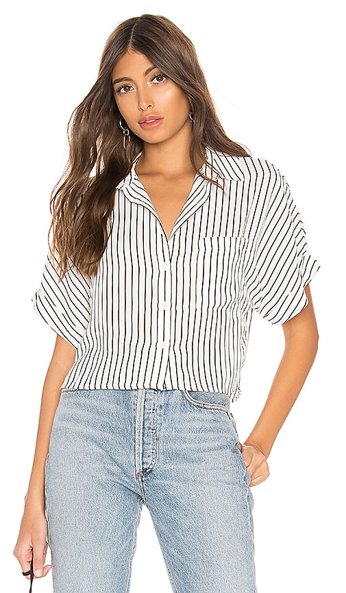 Alanie Button Up Top