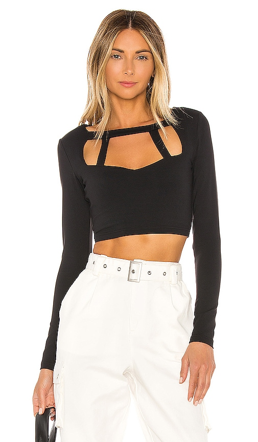 Cosette Crop Top by Superdown