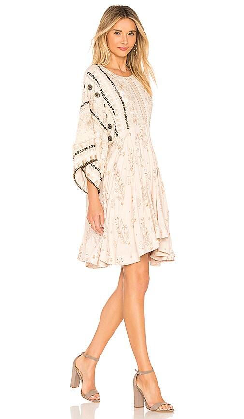 Spell & The Gypsy Collective Arabian Jewel Dress in Cream
