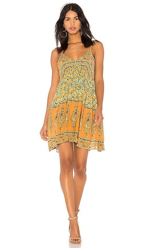 Spell & The Gypsy Collective X REVOLVE Delirium Strappy Mini Dress in Yellow