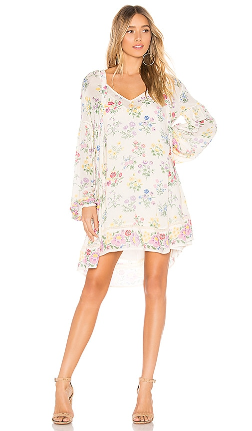 Posy Long Sleeve Mini Dress