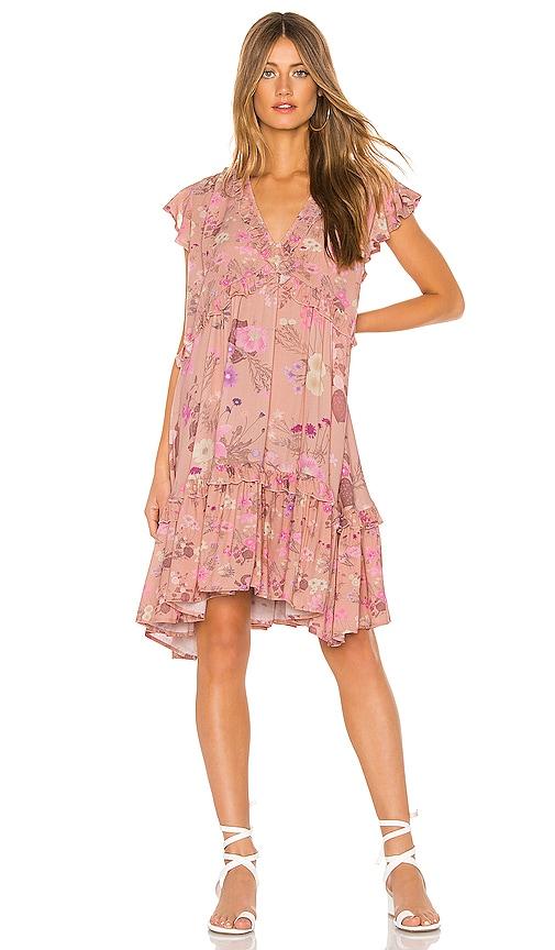 Wild Bloom Mini Dress
