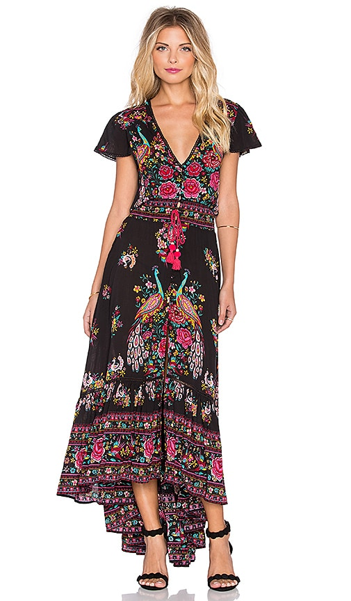 Spell & The Gypsy Collective Hotel Paradiso Maxi Dress in Jet | REVOLVE