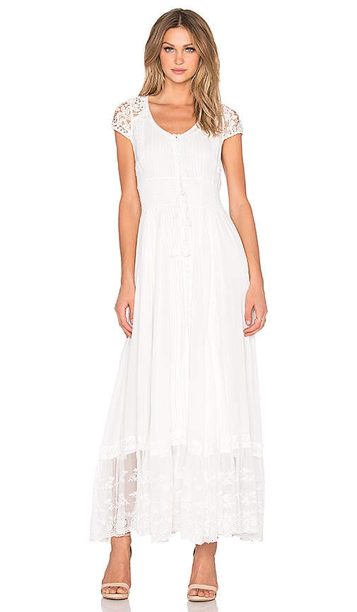 Spell & The Gypsy Collective Wilde Belle Gown in White | REVOLVE