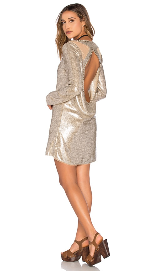 Bond Girl Mini Dress