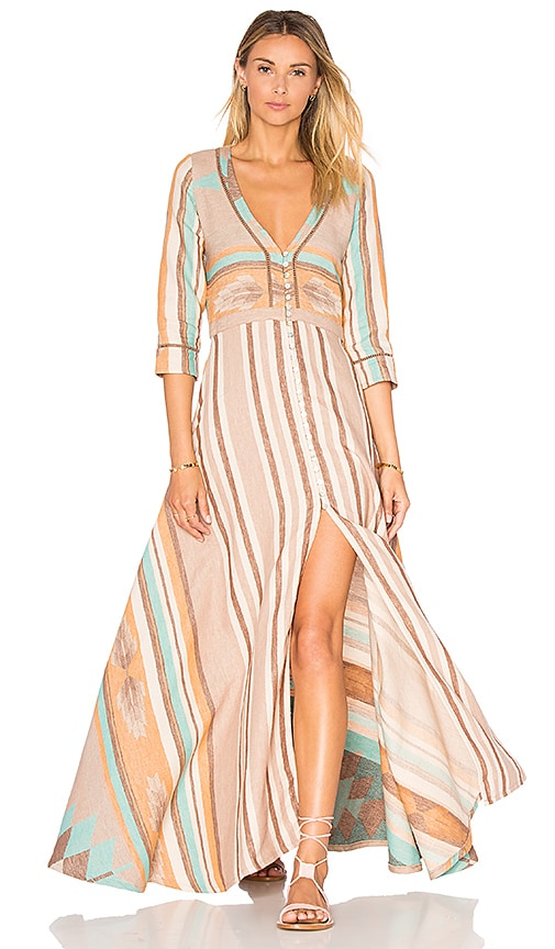 Spell & The Gypsy Collective Peyote Dress in Tan | REVOLVE