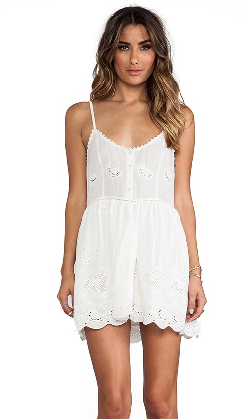Spell & The Gypsy Collective Indian Summer Sun Dress in White ...