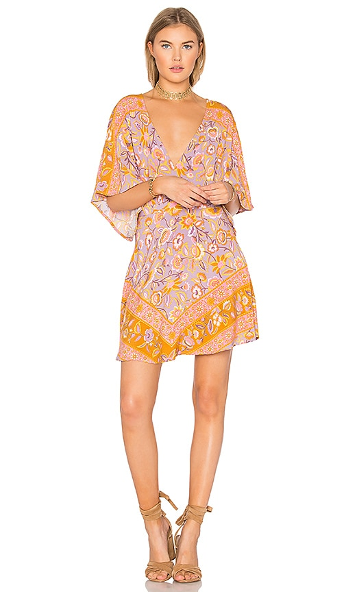 Spell & The Gypsy Collective Lolita Cutout Mini Dress in Pink