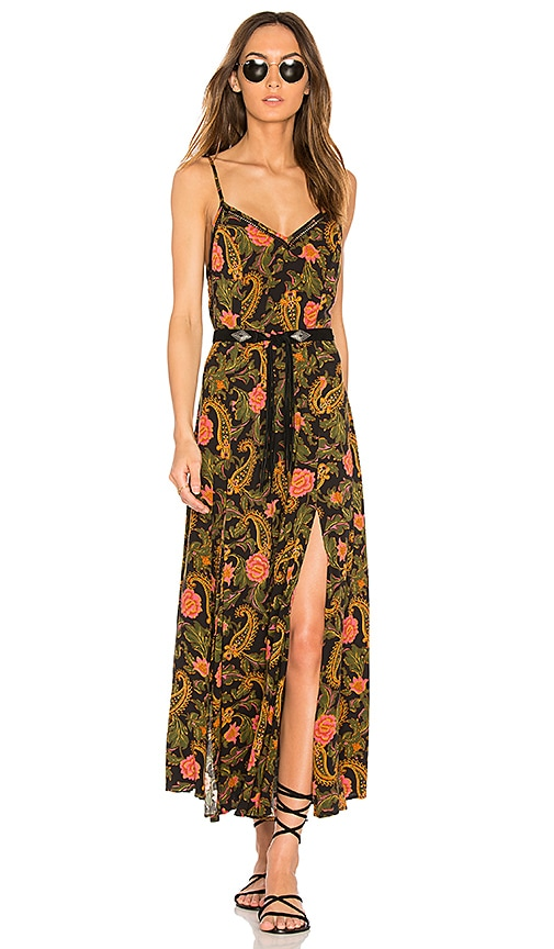 Spell & The Gypsy Collective Etienne Strappy Dress in Black