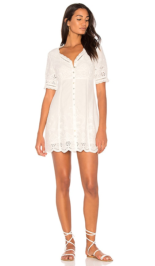 Spell & The Gypsy Collective Damsel Lace Dress in White