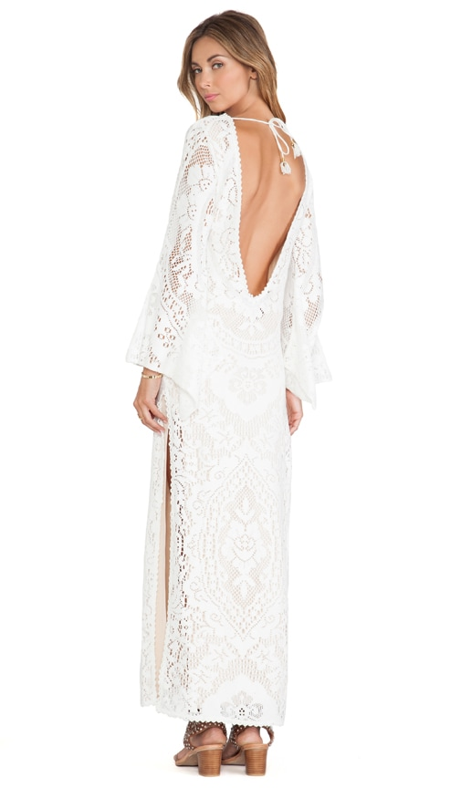 6c1fdd5af0f9a Spell & The Gypsy Collective White Dove Vintage Long Sleeve Dress in ...