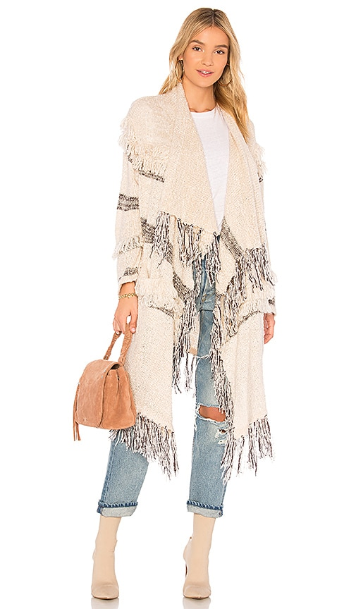 Spell & The Gypsy Collective Beni Knit Cardigan in Beige