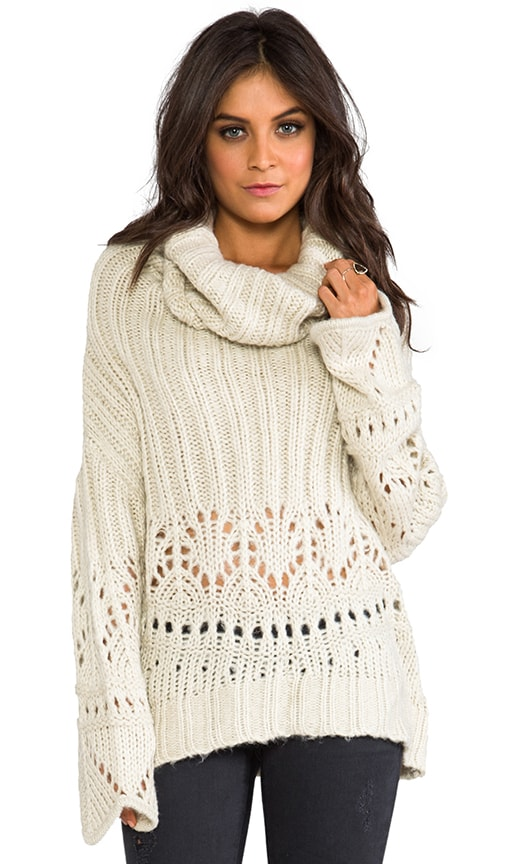 La Luna Cowl Neck Jumper