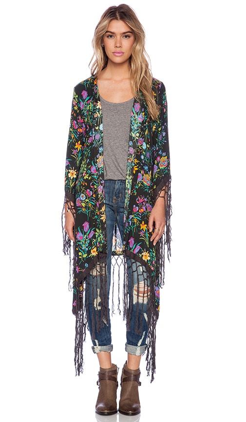 Gypsy Queen Tassel Kimono