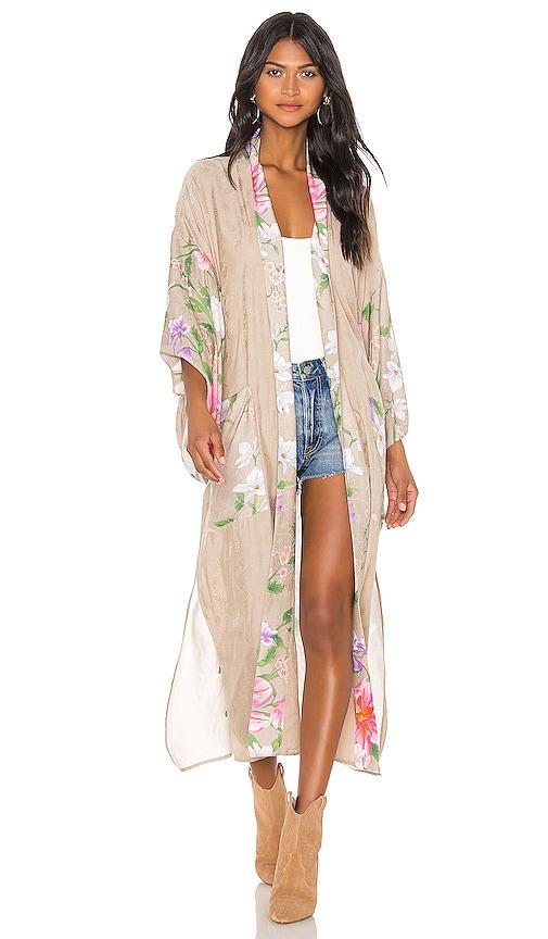 Waterfall Maxi Robe