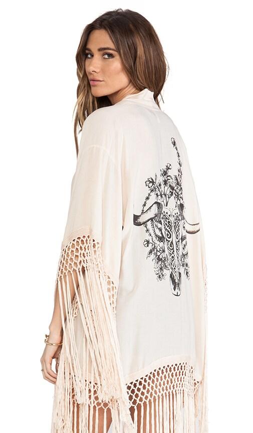 Indian Summer Tassel Kimono