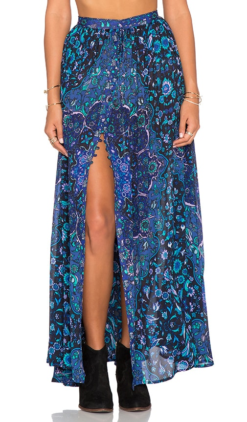 Kiss The Sky Maxi Skirt