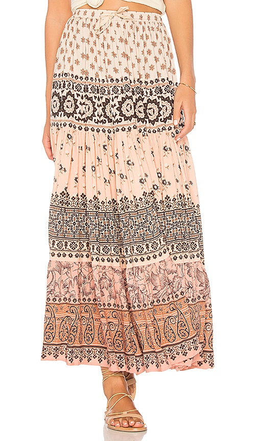 Spell & The Gypsy Collective Lionheart Maxi Skirt in Pink
