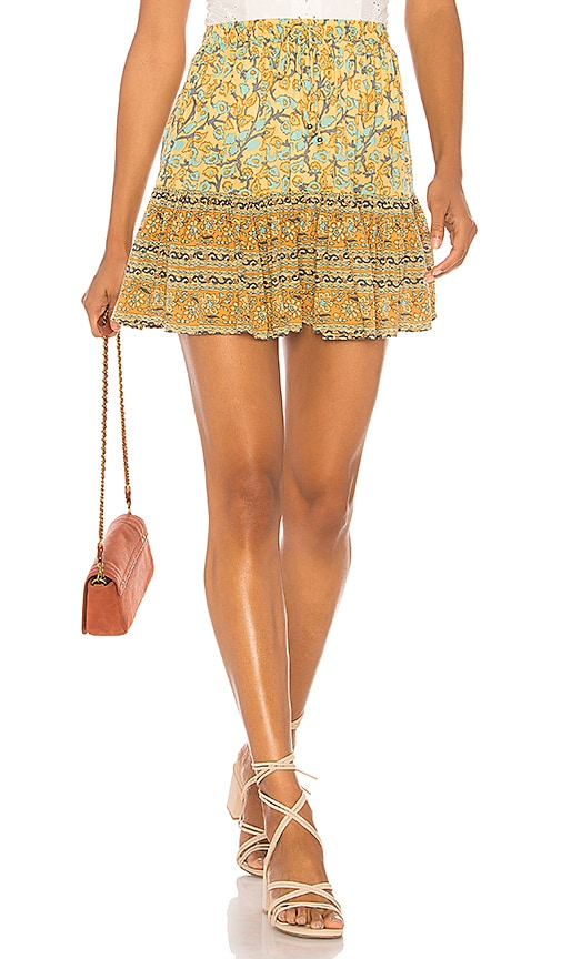 X REVOLVE Delirium Strappy Mini Dress in Yellow. - size Aus 6/US XS (also in Aus 10/US M,Aus 8/US S) Spell & The Gypsy Collective