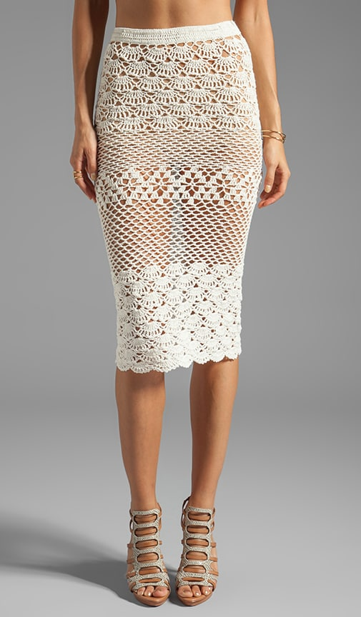 Coconut Crochet Skirt