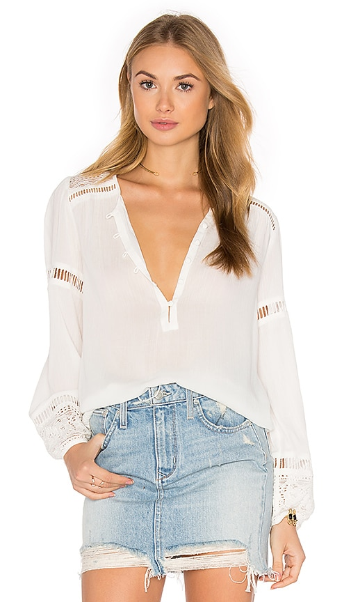 Spell & The Gypsy Collective Olivia Lace Top in White