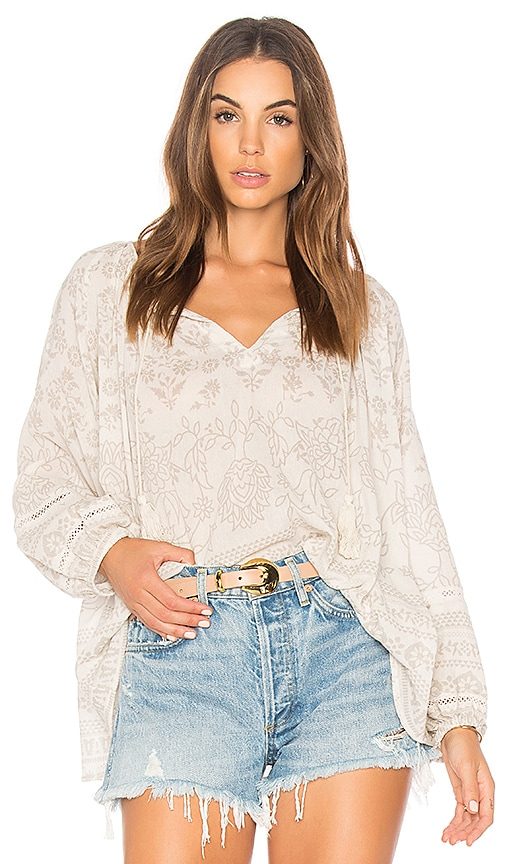 Spell & The Gypsy Collective Moroccan Luxe Blouse in White