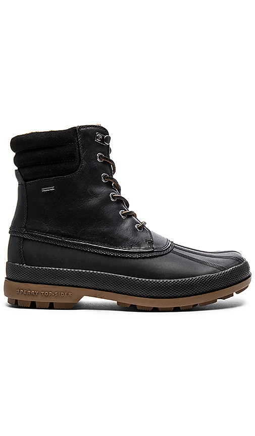 Sperry Top-Sider Cold Bay Boot in Black Gum