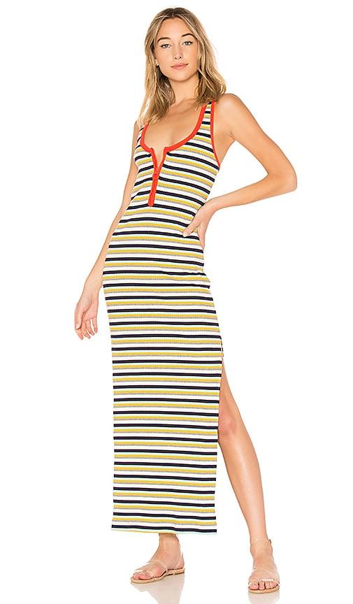 Splendid x MARGHERITA MISSONI Banda Maxi Dress in Yellow