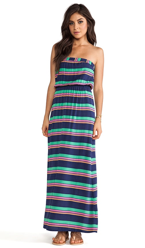Canes Stripe Voile Dress