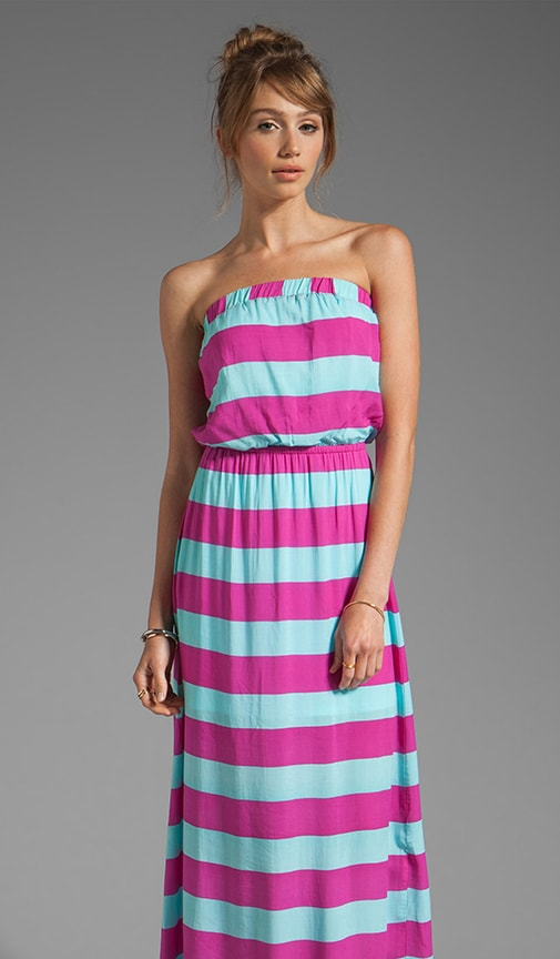 Magnolia Stripe Maxi Dress