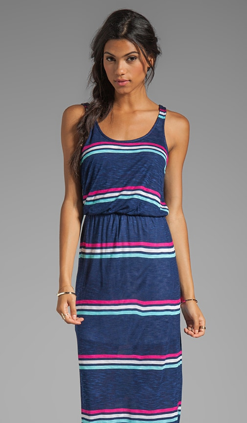 Hermosa Slub Stripe Dress