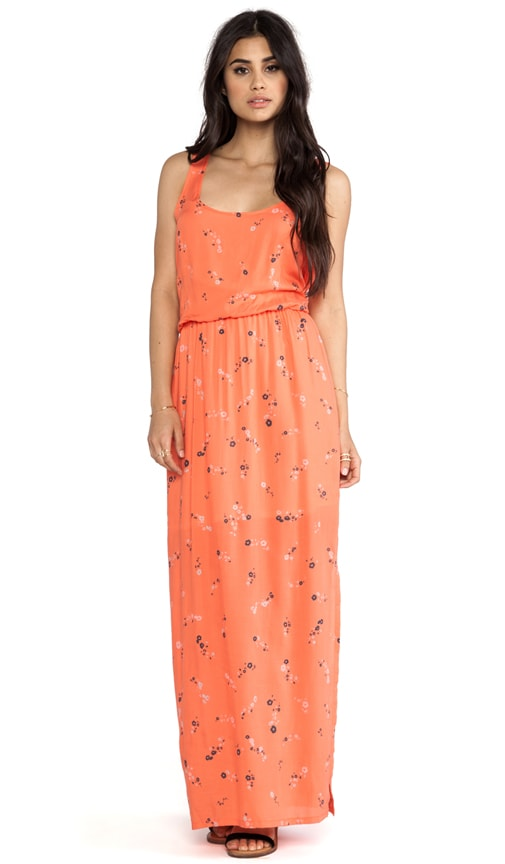 California Poppies Maxi Dress