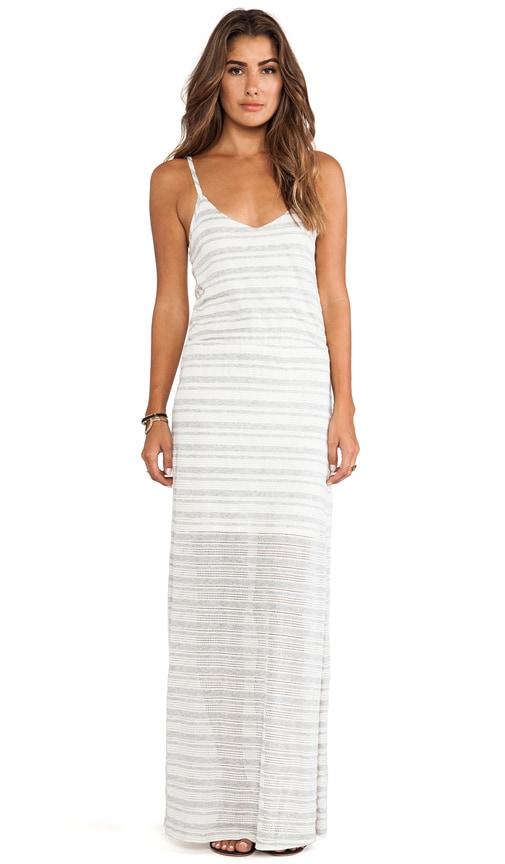 Marina Eyelet Stripe Dress