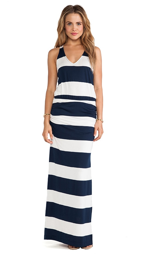 Luna Lake Stripe Maxi Dress