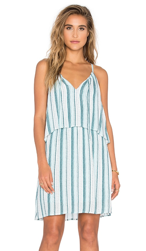 Splendid Beachcomber Stripe Dress in Green