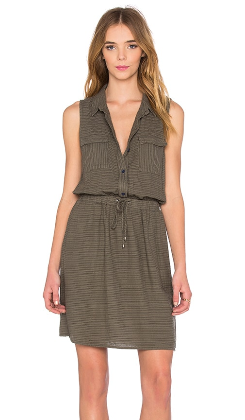 Marina Pinstripe Dress