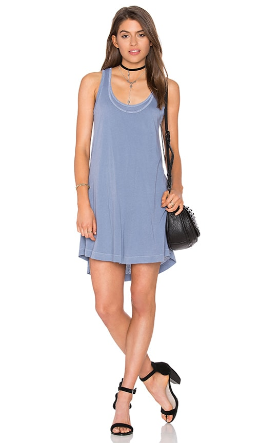 Splendid Vintage Whisper Tank Dress in Blue