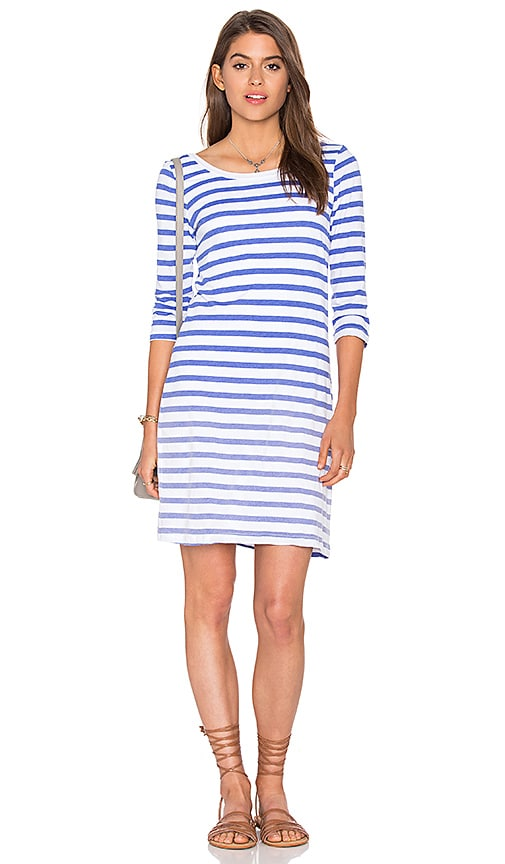 Sunfaded Stripe Jersey Mini Dress