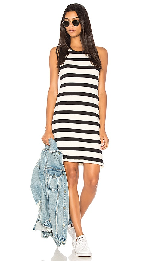 Seaboard Stripe Racerback Dress