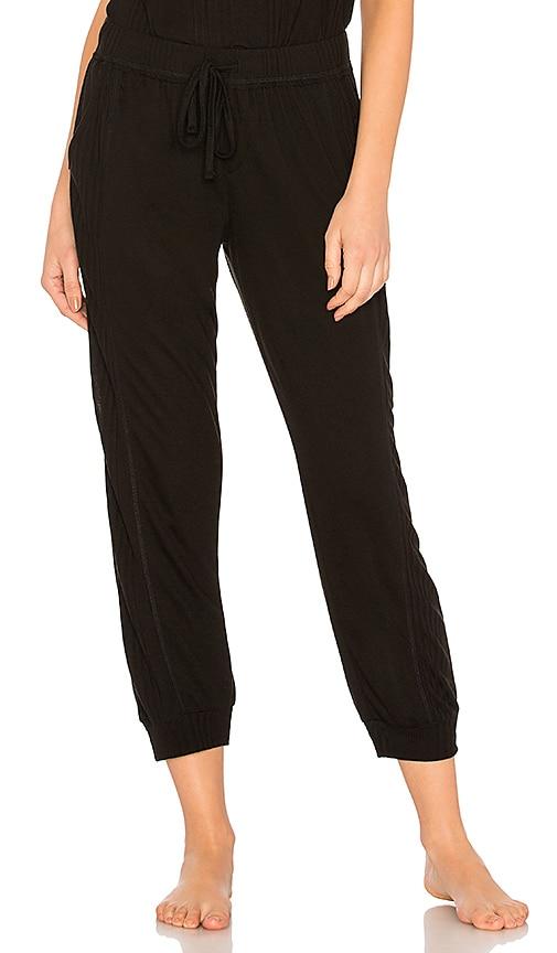 Splendid Crop Pant in Black