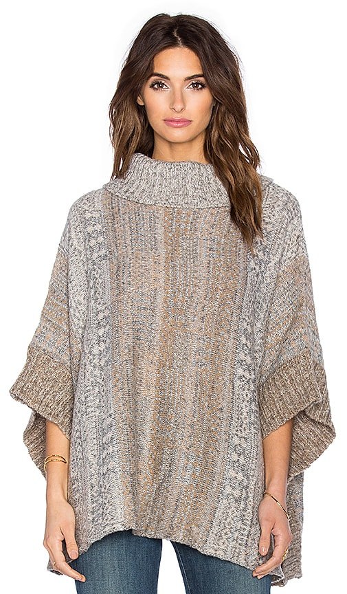 Snowfall Turtleneck Poncho