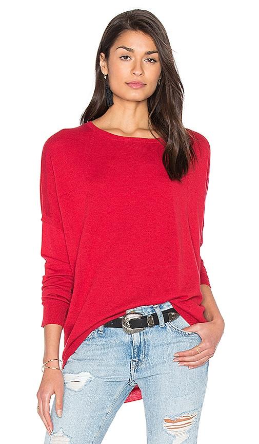 Splendid Quincy Sweater in Red