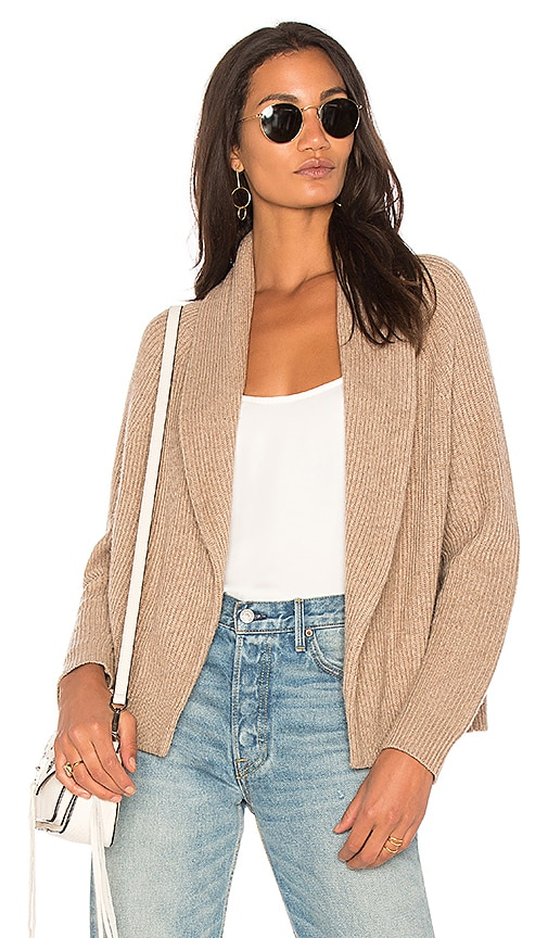 Splendid Northwick Cardigan in Tan