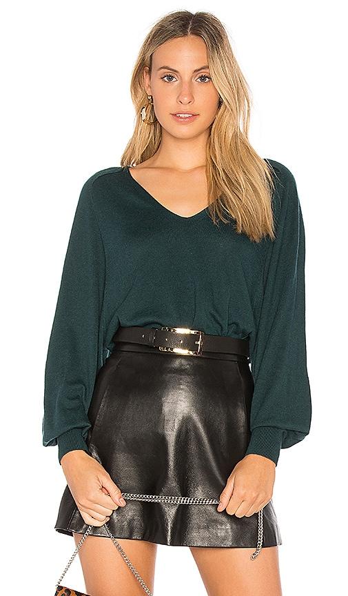 Splendid Harrow Cashblend Sweater in Green